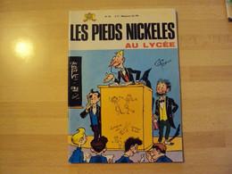 """LIVRE BD - LES PIEDS NICKELES - """"....AU LYCEE"""" N° 18 -  PELLOS - Edition 4ème Trimestre 1970 - Pieds Nickelés, Les"""