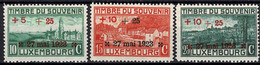 Luxembourg, Luxemburg 1923 Monuments Aux Morts 1e Guerre Mondiale Série Neuf MNH** Val.cat.14€ - Unused Stamps