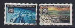 AAT 1971 Antarctic Treaty 2v Used (52279) - Usados