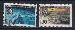 AAT 1971 Antarctic Treaty 2v Used (52279A) - Usados