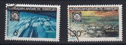 AAT 1971 Antarctic Treaty 2v Used (52279B) - Usados