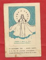 GS88 --- ANNO SANTO 1950 E PIO XII PROCLAMA IL DOGMA DELL' ASSUNZIONE DI MARIA SS. IN CIELO --- - Santini