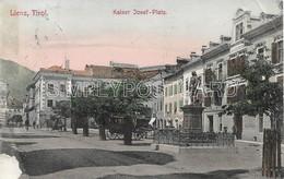 AK OLD  POSTCARD AUSTRIA - LIENZ , TIROL- KAISER JESEF PLATZ - ANIMATA CON CARROZZA - VIAGGIATA 1907 - F121 - Lienz
