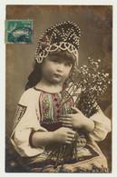 Carte Fantaisie - Petite Fille Avec Coiffe Russe - Ukraine - Portraits