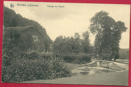 C.P Membre-sur-Semois = Paysage  Au  MOULIN - Vresse-sur-Semois