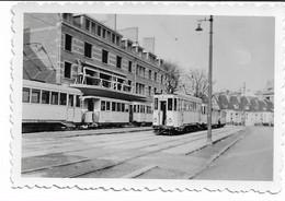 """PHOTO  (6x9 Cms )Tramways De Valenciennes """"marché Aux Herbes """" - Luoghi"""
