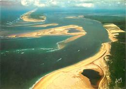 33 - Dune Du Pyla - Très Belle Vue De L'entrée Du Bassin Avec à Droite La Dune Du Pilat, Au Milieu Le Banc D'Arguin Et A - Andere Gemeenten