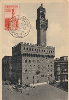 Firenze - Palazzo Vecchio O Della Signoria - Maximumkarten (MC)