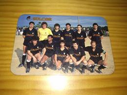 "Calendar Of Pocket  "" Futebol, Soccer - Oliveira Do Bairro "" Advertising Oliveira Do Bairro - Formato Piccolo : 1981-90"