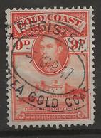 Gold Coast, 1938, SG 127a, Used (Perf: 12 X 11.5), Nice Cancellation - Gold Coast (...-1957)