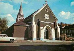 91 - Athis-Mons - L'église - Automobiles - Automobiles - CPM - Voir Scans Recto-Verso - Athis Mons