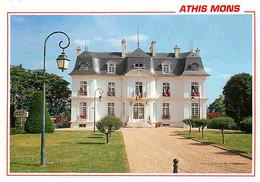 91 - Athis-Mons - L'Hôtel De Ville - Flamme Postale De Juvisy Sur Orge - CPM - Voir Scans Recto-Verso - Athis Mons