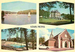 91 - Athis-Mons - Multivues - Automobiles - Piscine - Voile - CPM - Voir Scans Recto-Verso - Athis Mons