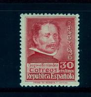 ED. 726 * , III CENT. DE LA MUERTE DE GREGORIO FERNÁNDEZ - 1931-50 Nuovi