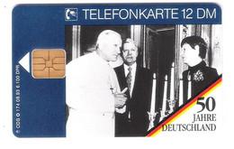 Deutschland - O 174  08/93 - 50 Jahre Deutschland - Papst Johannes Paul II Pope - Mint - O-Series : Customers Sets
