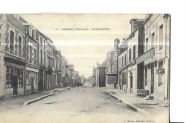 LANDIVY   N 10    LA GRANDE RUE    HOTEL DE LA POSTE          DEPT 53 - Landivy