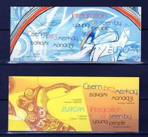 ZIBELINE EUROPA CEPT   2006 BIELORUSSIE BELARUS 2 CARNETS BOOKLETS TIMBRES  XX MNH - 2006