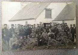 Plestin Les Grèves. Soldats Allemands Travaillant Sur Les Chemins Departementaux - Plestin-les-Greves