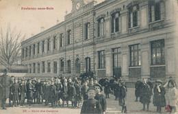 94) FONTENAY-SOUS-BOIS : Ecole Des Garçons (animée !!)  (EB) - Fontenay Sous Bois