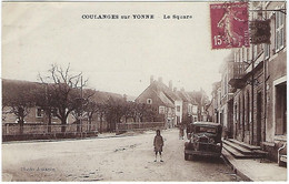 FRANCE - RARE - Coulanges Sur Yonne -  Le Square - - Coulanges Sur Yonne