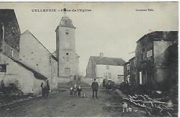 FRANCE - RARE - VELLEFRIE - Place De L'Eglise - - Vesoul