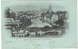 FRANCE - RARE - SAINT-NICOLAS-DE-PORT - Avenue De La Gare - 1903 - Saint Nicolas De Port