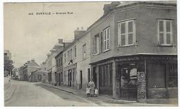 FRANCE - OURVILLE - GRANDE RUE  - Debut 1900 - Ourville En Caux