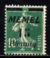 MEMEL  - 48* - TYPE SEMEUSE - Neufs