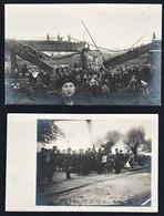 OPPELN (Pologne) Rare Lot De 2 Cartes Photos Neuves: Cachet à Sec Du Photographe R. Heimann (Oppeln) Haute Silésie. - Pologne