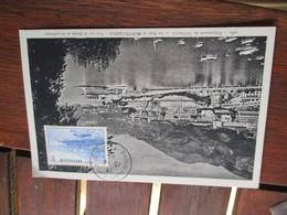 1945 Monaco 2 F Port Cm Carte Maximum - Cartas Máxima