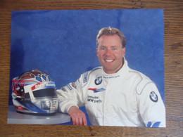 Photo De Presse  JJ LEHTO - Pilote  BMW V12 LMR ( 24 Heures Du Mans )  ( 24 X 17 Cm) - Sports