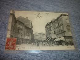 Cartes Postale Haute Loire Le Puy Boulevard Saint Louis Militaire - Le Puy En Velay