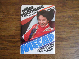 STICKER / AUTOCOLLANT   GILLES VILLENEUVE ( FERRARI ) Formule 1 - Car Racing - F1