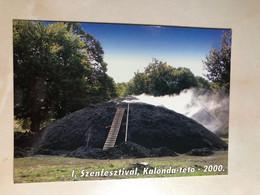 Romania First 1st Carbon Festival Calonda Kalonda Lupeni Farkaslaka Very Rare ! M0321 Post Card POSTCARD - Roemenië