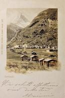 Cartolina - Zermatt - Comune In Svizzera - 1900 - Non Classificati