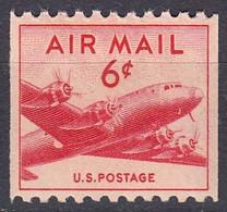 Etats Unis 1947 Poste Aerienne Yvert 35 A ** Neuf Sans Charniere Dentele Horizontalement - 2a. 1941-1960 Oblitérés