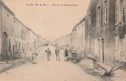 CPA:URUFFE (54) ROUTE DE GIBEAUMEIX..ANIMÉE..ÉCRITE - Other Municipalities