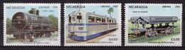 Nicaragua 1983 - Oblitéré - Trains - Michel Nr. 2389 2391-2392 (nca054) - Nicaragua