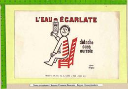 BUVARD :L'Eau Ecarlate Signé Savignac - Sprudel & Limonade