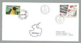 1988/89 TAAF / FSAT OPERATION GREENPEACE - Covers & Documents