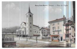 Bourg Saint Maurice Café De La Paix (CPA Colorisée) - Bourg Saint Maurice