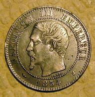 PIECE DE 2 CENTIMES NAPOLEON III - 1854 K SPLENDIDE - B. 2 Centimes