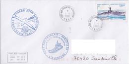 France TAAF 2007 Lettre Avec TUC  YT 462 Et Oblitération Kerguelen - Briefe U. Dokumente