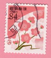 2019 GIAPPONE Fiori Flowers Fleurs Red Plum Blossoms - 84 Y Usato - Usati