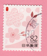 2019 GIAPPONE Fiori Flowers Fleurs Cherry Blossom Pink  - 82 Y Usato - Usati