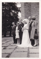 Carte Photo, Photocard, Wedding Couple With Their Parents (pk82019) - Marriages
