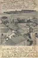 GRUPONT : Place De L'Eglise - Cachet De La Poste 1903 - Tellin