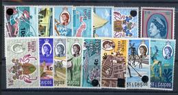 Turks And Caicos MH 1969 - Turks & Caicos