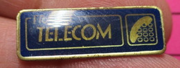 SP06 Pin's Pins / Beau Et Rare / THEME : FRANCE TELECOM / LOGO DES ANNEES 90 - Telecom Francesi