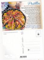 Recette De Cuisine:  LA PAELLA      : Edit: JACK     N° 9881   NEUVE - Recipes (cooking)